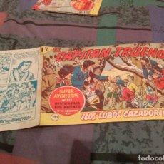 Tebeos: EL CAPITÁN TRUENO Nº 393 - LOS ''LOBOS CAZADORES - BRUGUERA - 1964 .. Lote 144890706