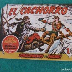 Tebeos: EL CACHORRO Nº 186 CARGAMENTO DE EBANO BRUGUERA. Lote 144905242