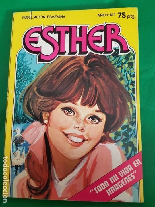 ESTHER BRUGUERA NÚMERO 1 TODA MI VIDA EN IMÁGENES (Tebeos y Comics - Bruguera - Esther)