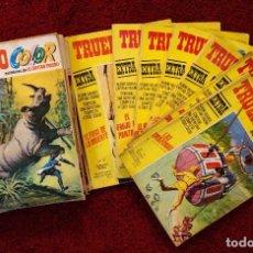 Tebeos: LOTE CAPITÁN TRUENO COLOR - 1ª, 2ª Y 3ª ÉPOCA. 49 REVISTAS Y 7 EXTRAS. Lote 144915262