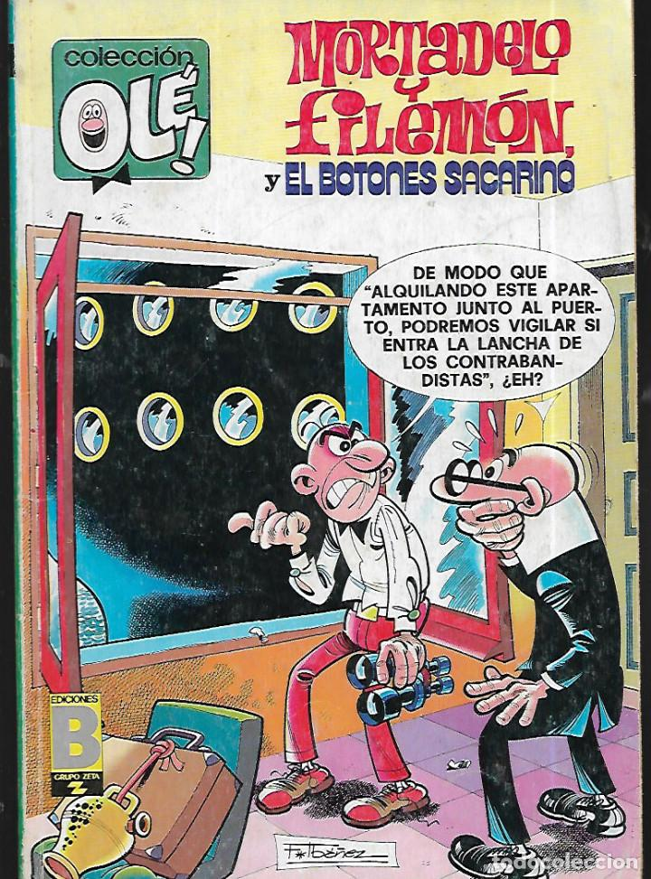MORTADELO Y FILEMÓN Y EL BOTONES SACARINO- 167 -M96 (Tebeos y Comics - Bruguera - Ole)