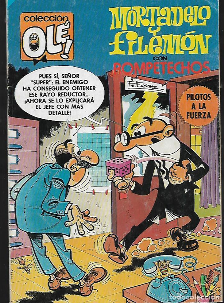 MORTADELO Y FILEMÓN CON ROMPETECHOS -Nº 191 (Tebeos y Comics - Bruguera - Ole)
