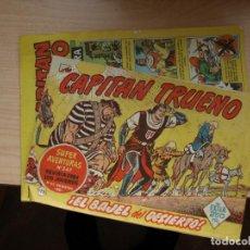 Tebeos: EL CAPITAN TRUENO 172 Y EL CAPITAN TRUENO EXTRA Nº 1 - TAL COMO SALIERON JUNTOS - BRUGUERA. Lote 144996870