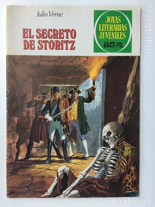 JOYAS LITERARIAS JUVENILES- Nº 214 -EL SECRETO DE STORITZ-JULIO VIVAS-1ª EDIC-1979-M.BUENO-RARO-9886 (Tebeos y Comics - Bruguera - Joyas Literarias)