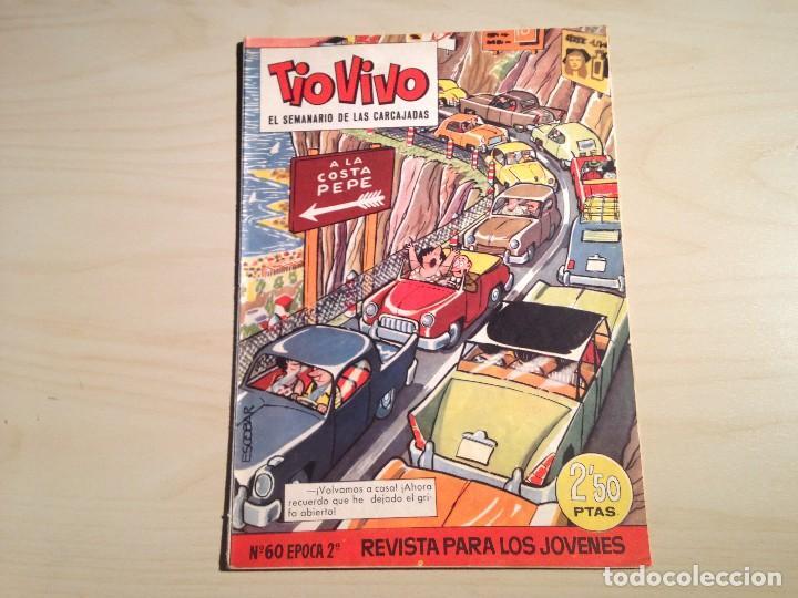 TIO VIVO LOTE DE 9 EJEMPLARES 2ª ÉPOCA (Tebeos y Comics - Bruguera - Tio Vivo)