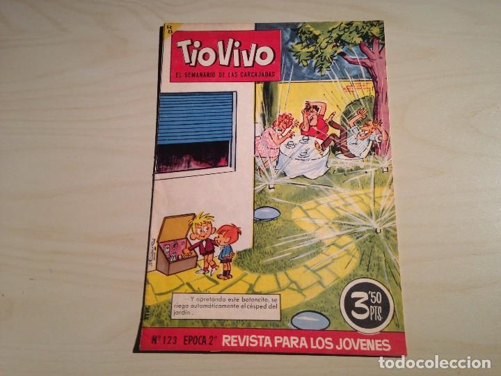 Tebeos: Tio Vivo lote de 9 ejemplares 2ª época - Foto 3 - 145273386