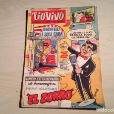 Tebeos: TIO VIVO EXTRA HOMENAJE A PEPE IGLESIAS Y HUMOR SOBRE RUEDAS 1957 1958. Lote 145274690