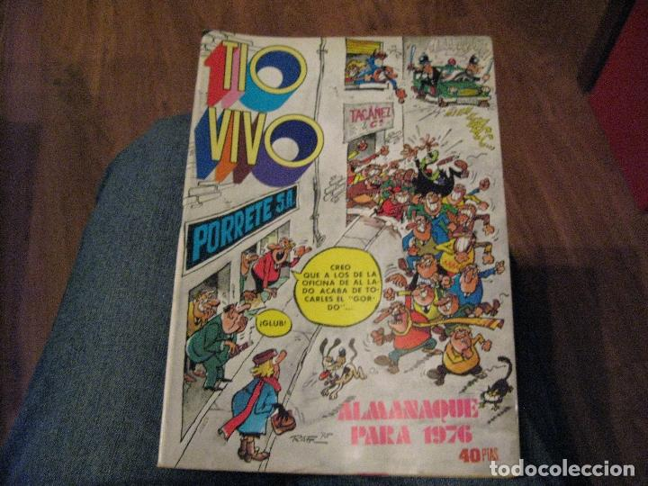 TÍO VIVO - ALMANAQUE PARA 1976 - BRUGUERA (Tebeos y Comics - Bruguera - Tio Vivo)