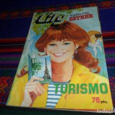 Tebeos: REGALO LILY ESPECIAL 19 ESTHER OTOÑO. BRUGUERA 1981. 90 PTS. LILY 8 TURISMO PÓSTER JOHN TRAVOLTA.. Lote 13038284