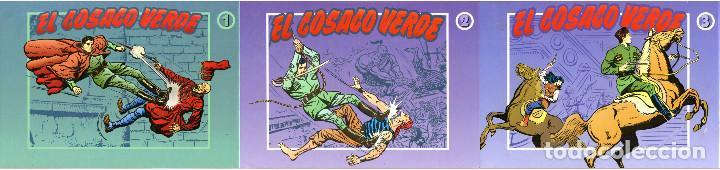 EL COSACO VERDE, COLECCIÓN COMPLETA, 3 TOMOS CON SOBRECUBIERTA - EDICIONES B 1994-5-6 (Tebeos y Comics - Bruguera - Cosaco Verde)