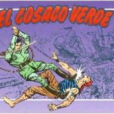 Tebeos: EL COSACO VERDE, COLECCIÓN COMPLETA, 3 TOMOS CON SOBRECUBIERTA - EDICIONES B 1994-5-6. Lote 145353570
