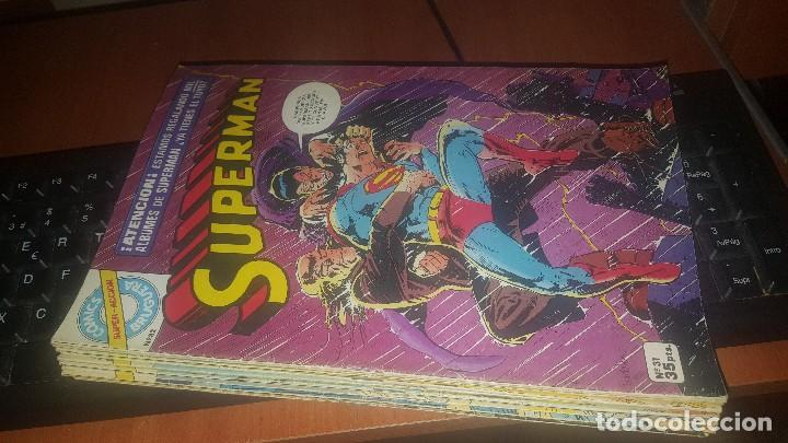 SUPERMAN, COMICS SUPER ACCION BRUGUERA, 2-3-4-5-7-8-9-10-11-12-30-31-54 (Tebeos y Comics - Bruguera - Otros)