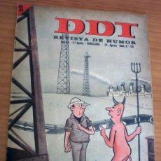 Tebeos: DDT - NÚMERO 739 - AÑO 1965 . Lote 145536162