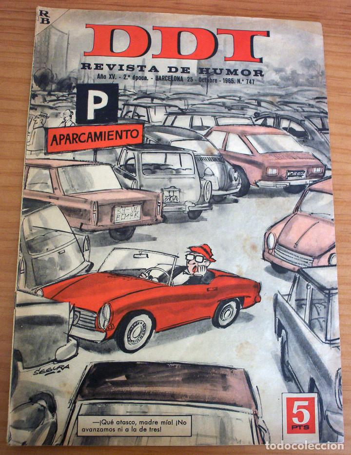 DDT - NÚMERO 747 - AÑO 1965 (Tebeos y Comics - Bruguera - DDT)