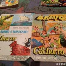 Tebeos: BRAVO. Nº 77. EL CACHORRO, Nº 39 LA HIJA DEL TRUENO. BRUGUERA 1977. Lote 145581466
