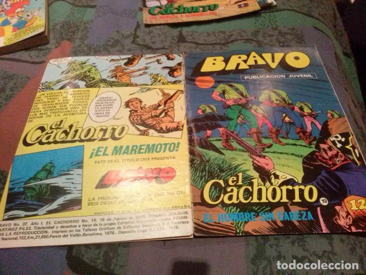 BRAVO. Nº 37. EL CACHORRO, Nº 19 EL HOMBRE SIN CABEZA. BRUGUERA 1976 (Tebeos y Comics - Bruguera - Bravo)