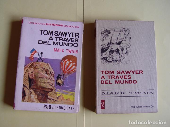 TOM SAWYER A TRAVÉS DEL MUNDO (HISTORIAS SELECCIÓN. BRUGUERA, 1967) 1ª ED. ORIGINAL (Tebeos y Comics - Bruguera - Historias Selección)