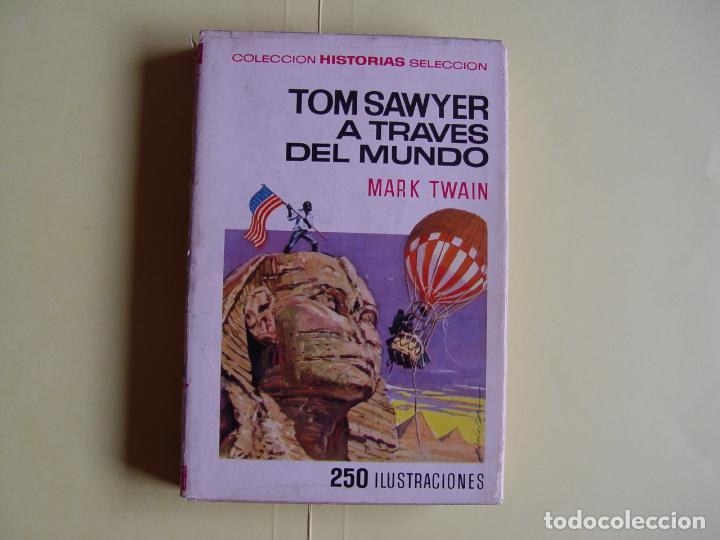 Tebeos: TOM SAWYER A TRAVÉS DEL MUNDO (Historias Selección. BRUGUERA, 1967) 1ª ed. Original - Foto 2 - 145595930