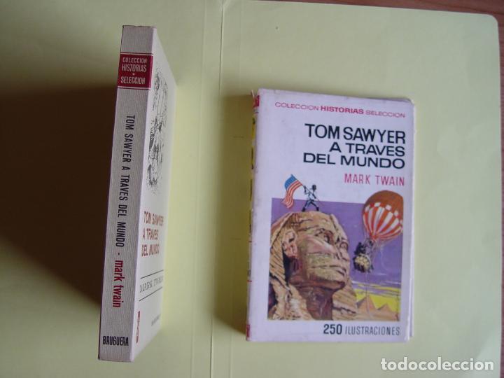 Tebeos: TOM SAWYER A TRAVÉS DEL MUNDO (Historias Selección. BRUGUERA, 1967) 1ª ed. Original - Foto 3 - 145595930