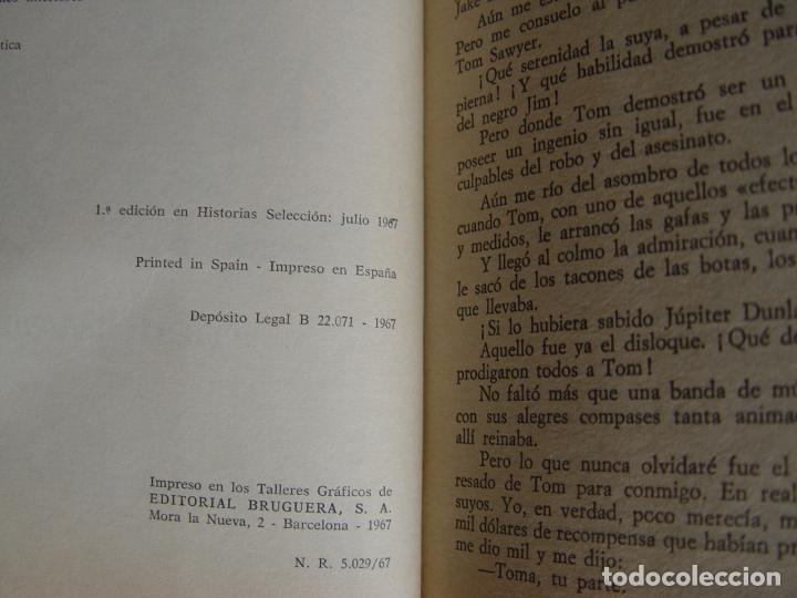 Tebeos: TOM SAWYER A TRAVÉS DEL MUNDO (Historias Selección. BRUGUERA, 1967) 1ª ed. Original - Foto 5 - 145595930