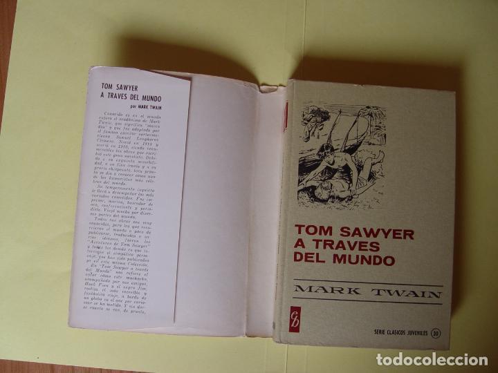 Tebeos: TOM SAWYER A TRAVÉS DEL MUNDO (Historias Selección. BRUGUERA, 1967) 1ª ed. Original - Foto 7 - 145595930