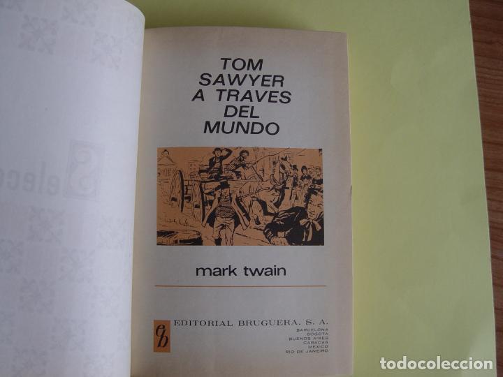Tebeos: TOM SAWYER A TRAVÉS DEL MUNDO (Historias Selección. BRUGUERA, 1967) 1ª ed. Original - Foto 11 - 145595930