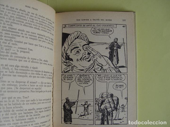 Tebeos: TOM SAWYER A TRAVÉS DEL MUNDO (Historias Selección. BRUGUERA, 1967) 1ª ed. Original - Foto 12 - 145595930