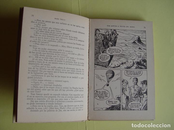 Tebeos: TOM SAWYER A TRAVÉS DEL MUNDO (Historias Selección. BRUGUERA, 1967) 1ª ed. Original - Foto 13 - 145595930
