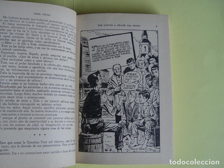 Tebeos: TOM SAWYER A TRAVÉS DEL MUNDO (Historias Selección. BRUGUERA, 1967) 1ª ed. Original - Foto 14 - 145595930