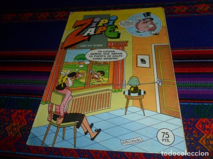 Tebeos: ZIPI Y ZAPE NºS 565 583 600 601 608 663. BRUGUERA 1984. 60 PTS. BUEN ESTADO. PUBLICIDAD LEGO. - Foto 6 - 53060958