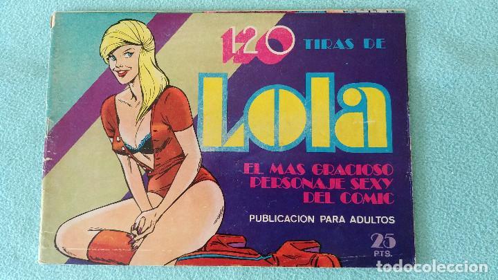 120 TIRAS DE LOLA Nº 4 - BRUGUERA (Tebeos y Comics - Bruguera - Otros)