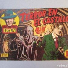 Tebeos: INSPECTOR DAN (1951, BRUGUERA) 6 · 1952 · TERROR EN EL CASTILLO. Lote 145721302
