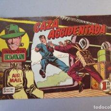 Tebeos: INSPECTOR DAN (1951, BRUGUERA) 50 · 1953 · CAZA ACCIDENTADA. Lote 145722294