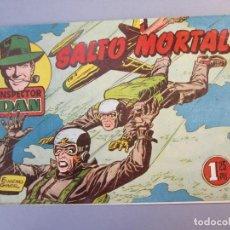 Tebeos: INSPECTOR DAN (1951, BRUGUERA) 46 · 1953 · SALTO MORTAL. Lote 145725190