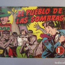 Tebeos: INSPECTOR DAN (1951, BRUGUERA) 45 · 1953 · EL PUEBLO DE LAS SOMBRAS. Lote 145726166
