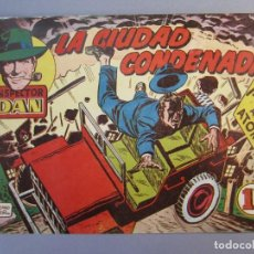 Tebeos: INSPECTOR DAN (1951, BRUGUERA) 44 · 1953 · LA CIUDAD CONDENADA. Lote 145726322
