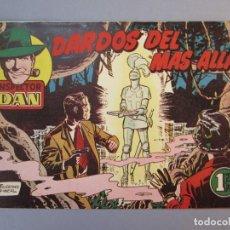 Tebeos: INSPECTOR DAN (1951, BRUGUERA) 42 · 1953 · DARDOS DEL MÁS ALLA. Lote 145729274