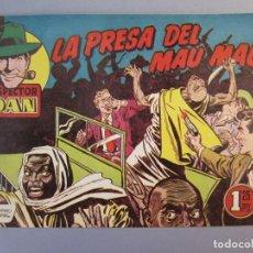 Tebeos: INSPECTOR DAN (1951, BRUGUERA) 41 · 1953 · LA PRESA DEL MAU MAU. Lote 145731750