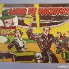 Tebeos: INSPECTOR DAN (1951, BRUGUERA) 35 · 1952 · LUNA DE SACRIFICIO. Lote 145731990