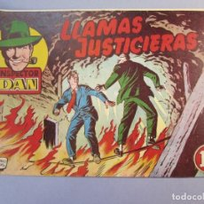 Tebeos: INSPECTOR DAN (1951, BRUGUERA) 15 · 1952 · LLAMAS JUSTICIERAS. Lote 145735410
