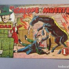 Tebeos: INSPECTOR DAN (1951, BRUGUERA) 30 · 1952 · EL GALOPE DE LA MUERTE. Lote 145738402