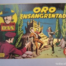 Tebeos: INSPECTOR DAN (1951, BRUGUERA) 28 · 1952 · ORO ENSANGRENTADO. Lote 145738962