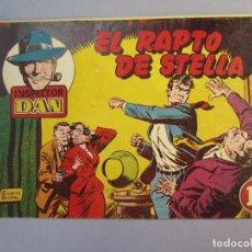 Tebeos: INSPECTOR DAN (1951, BRUGUERA) 18 · 1952 · EL RAPTO DE STELLA. Lote 145739674