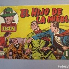 Tebeos: INSPECTOR DAN (1951, BRUGUERA) 13 · 1952 · EL HIJO DE LA NIEBLA. Lote 145745878