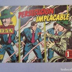 Tebeos: INSPECTOR DAN (1951, BRUGUERA) 55 · 1953 · PERSECUCIÓN IMPLACABLE. Lote 145749430