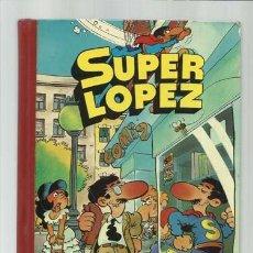 Tebeos: SUPER LOPEZ, TOMO 1, 1982, PRIMERA EDICIÓN, BRUGUERA. COLECCIÓN A.T.. Lote 145806810