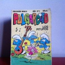 Tebeos: PULGARCITO AÑO 1 N 9 ED.BRUGUERA 1981. Lote 145825416