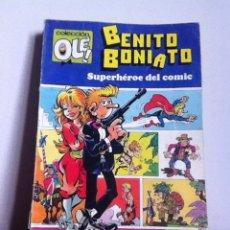 Tebeos: BENITO BONIATO N 1 OLE 1 EDICIÓN 1984. Lote 145832098