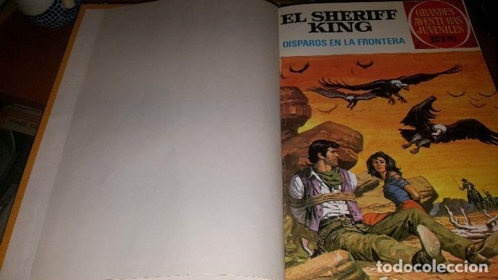 Tebeos: El sheriff king, 22 numeros encuadernados en 2 tomos - Foto 2 - 145832682