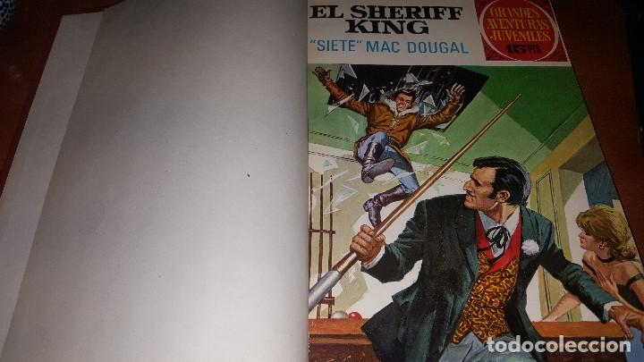 Tebeos: El sheriff king, 22 numeros encuadernados en 2 tomos - Foto 5 - 145832682